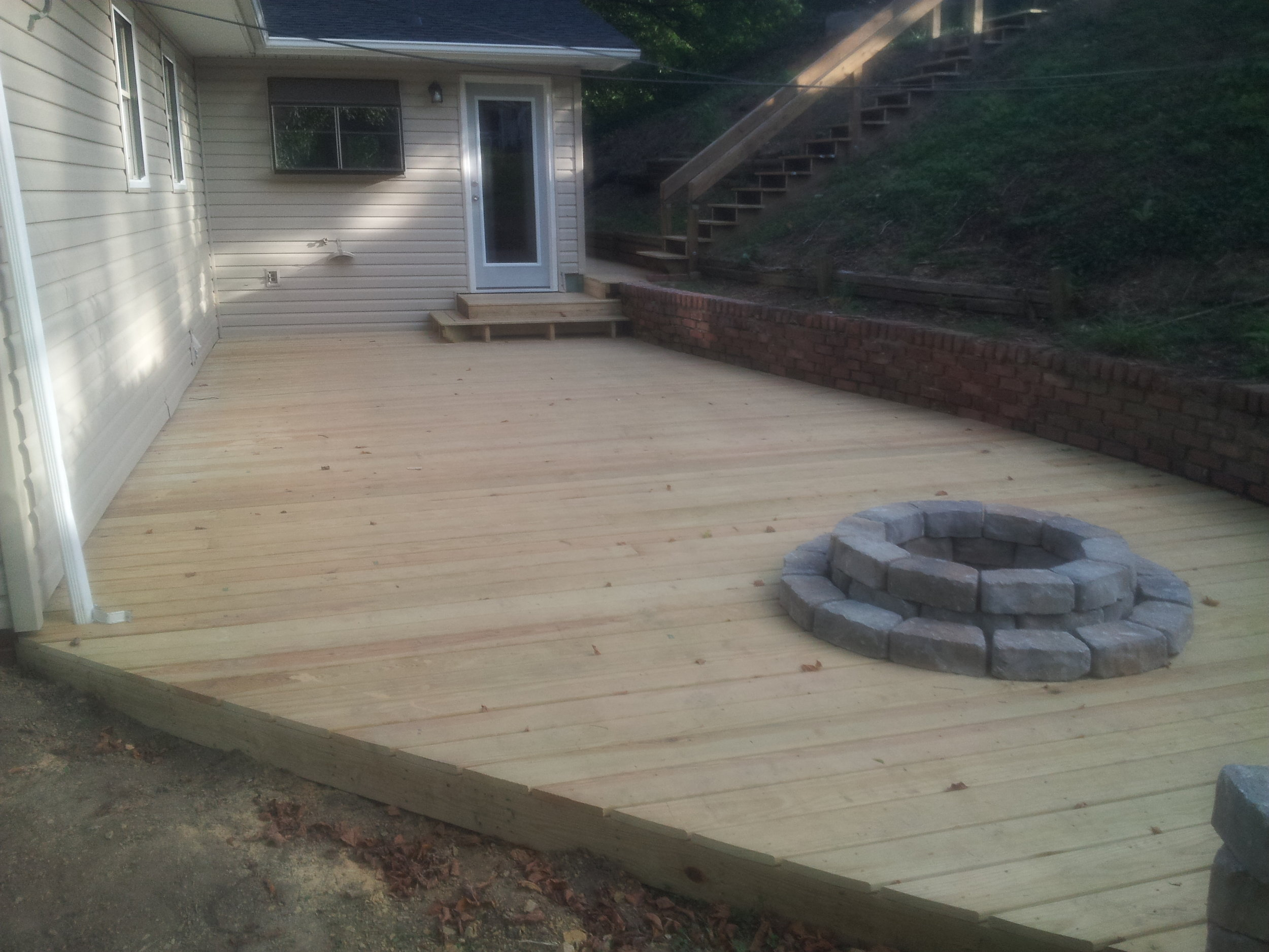 New Wood Deck (Kingsport, Tn)