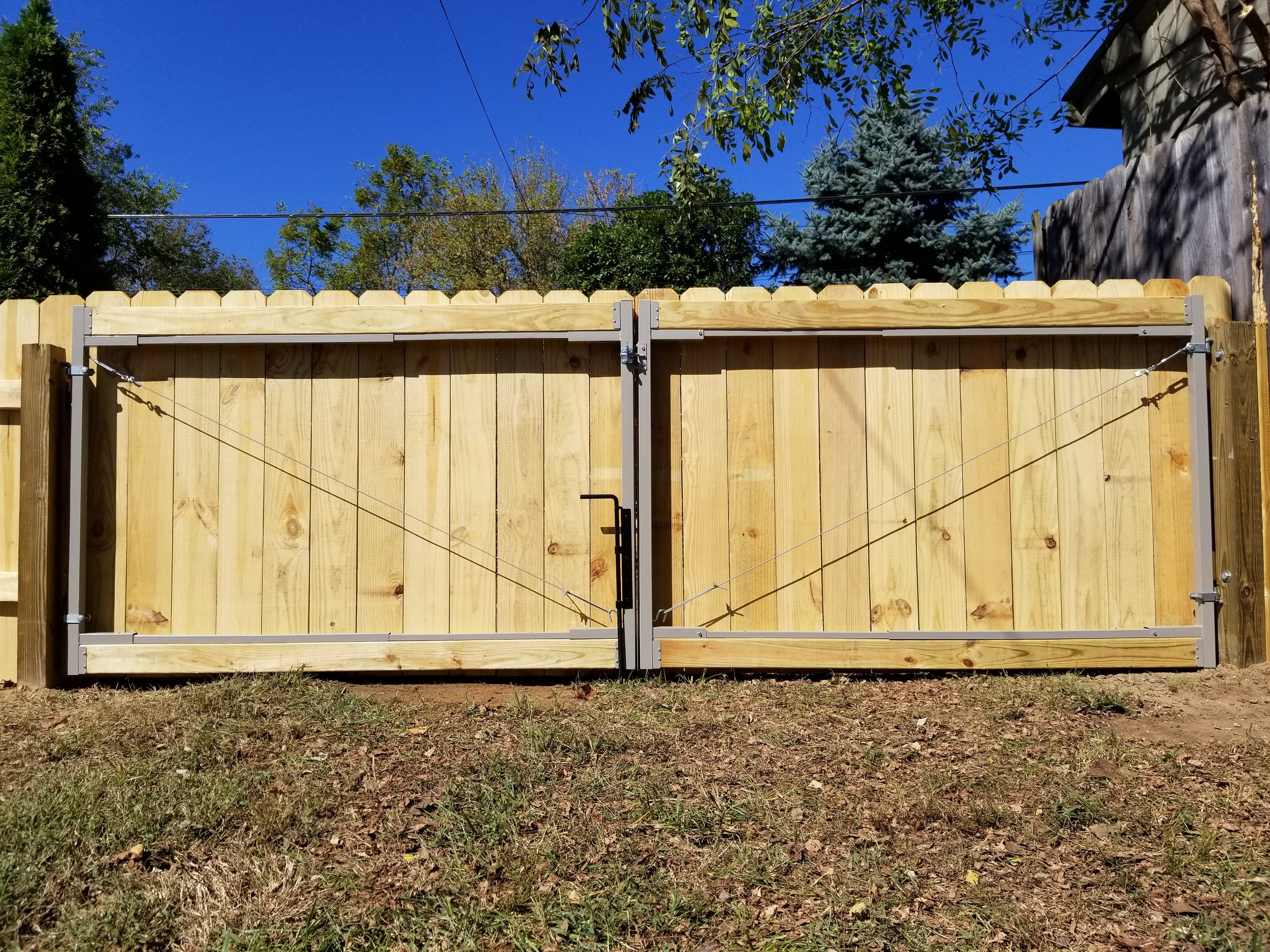 New Wood Fence Gate (Johnson City, Tn)