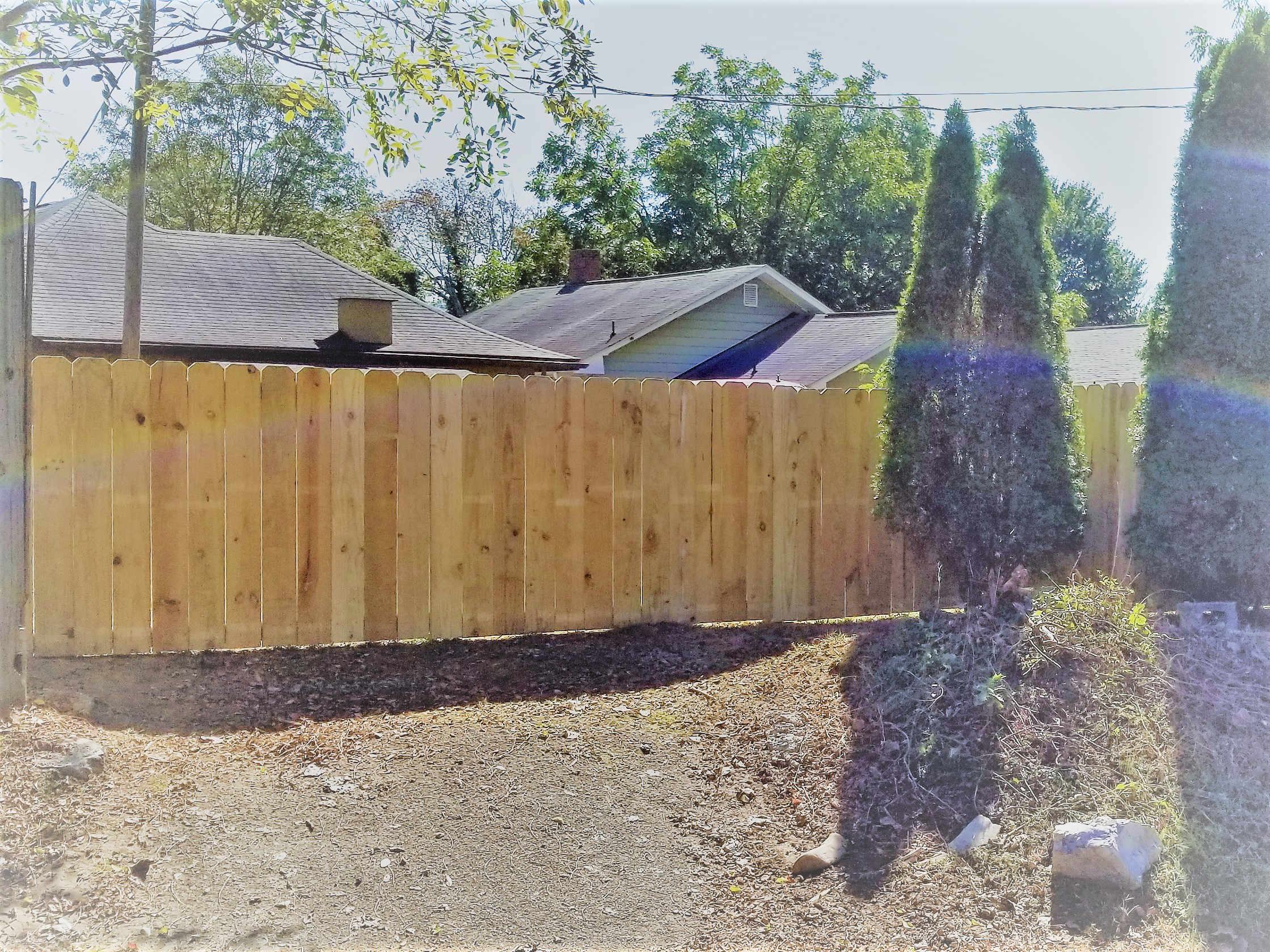 New Wood Fence 210 Feet (Johnson City, Tn)