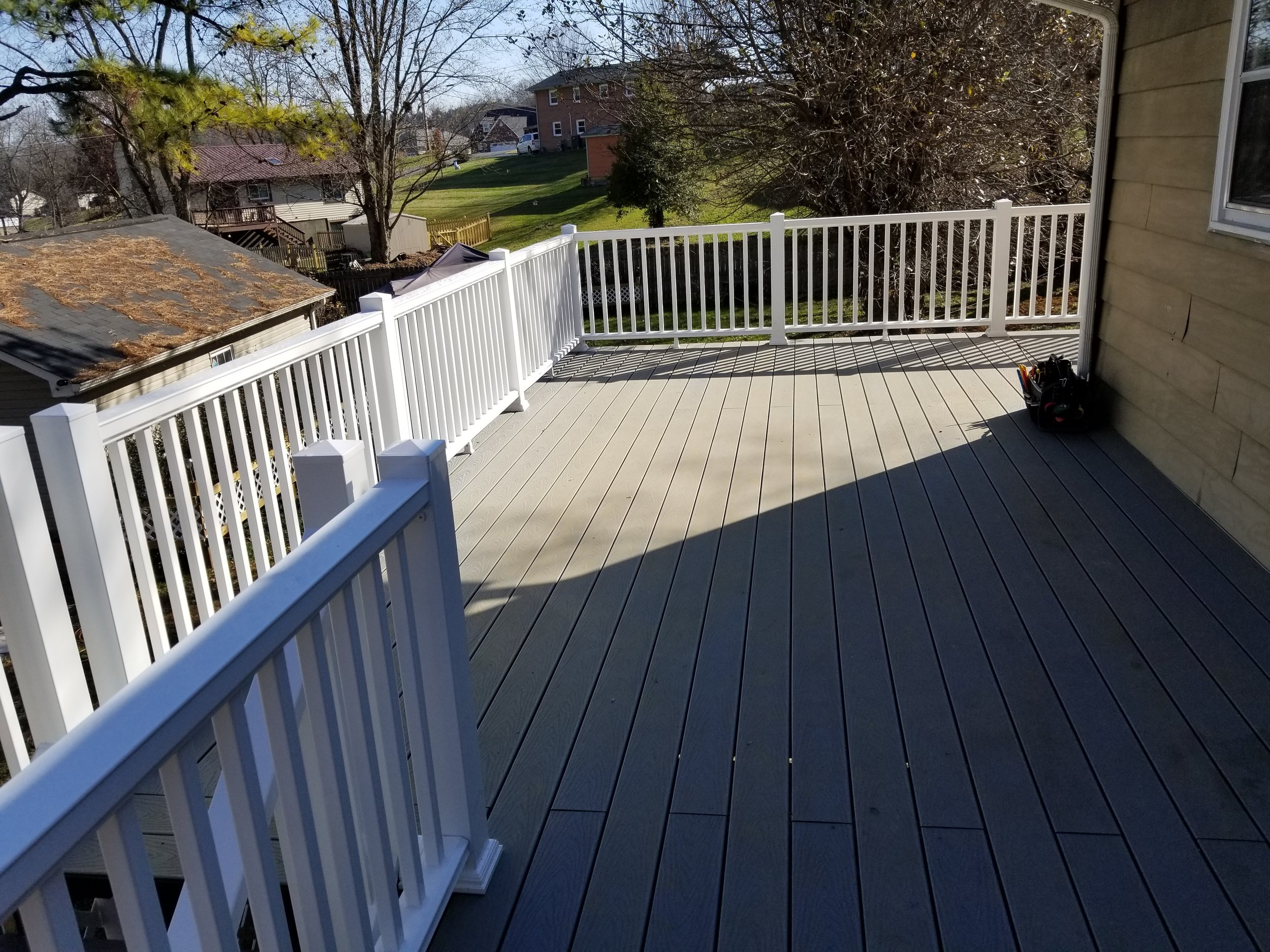 New Composite Trex Deck 600 Sq. Feet (Piney Flats, Tn)