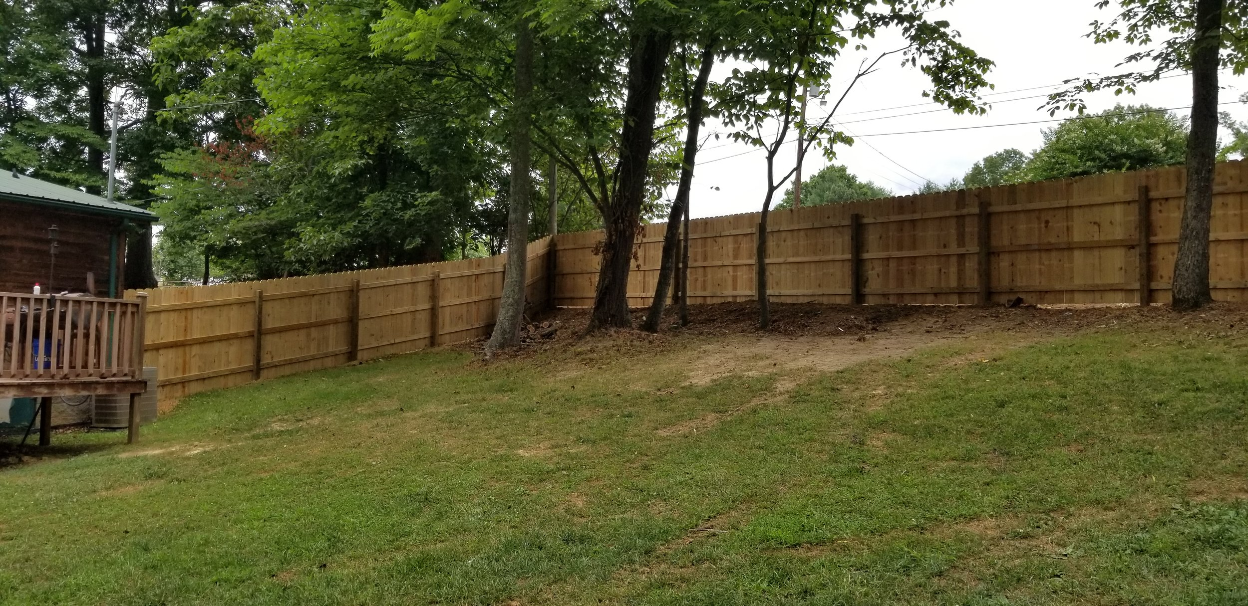New Wood Privacy Fence (Greeneville, Tn)