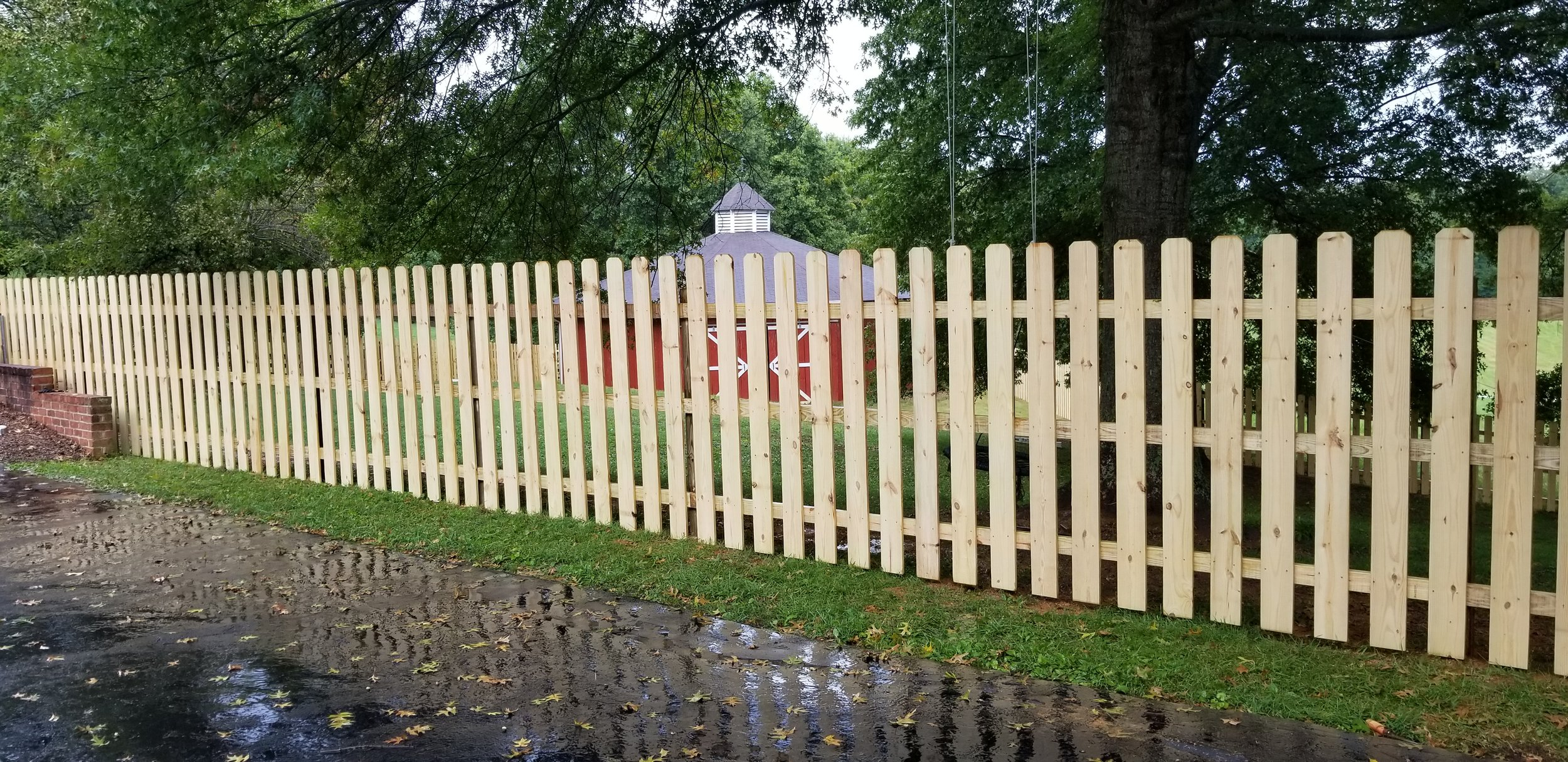 New 6 Foot Wood Fence ( Jonesborough, Tn )