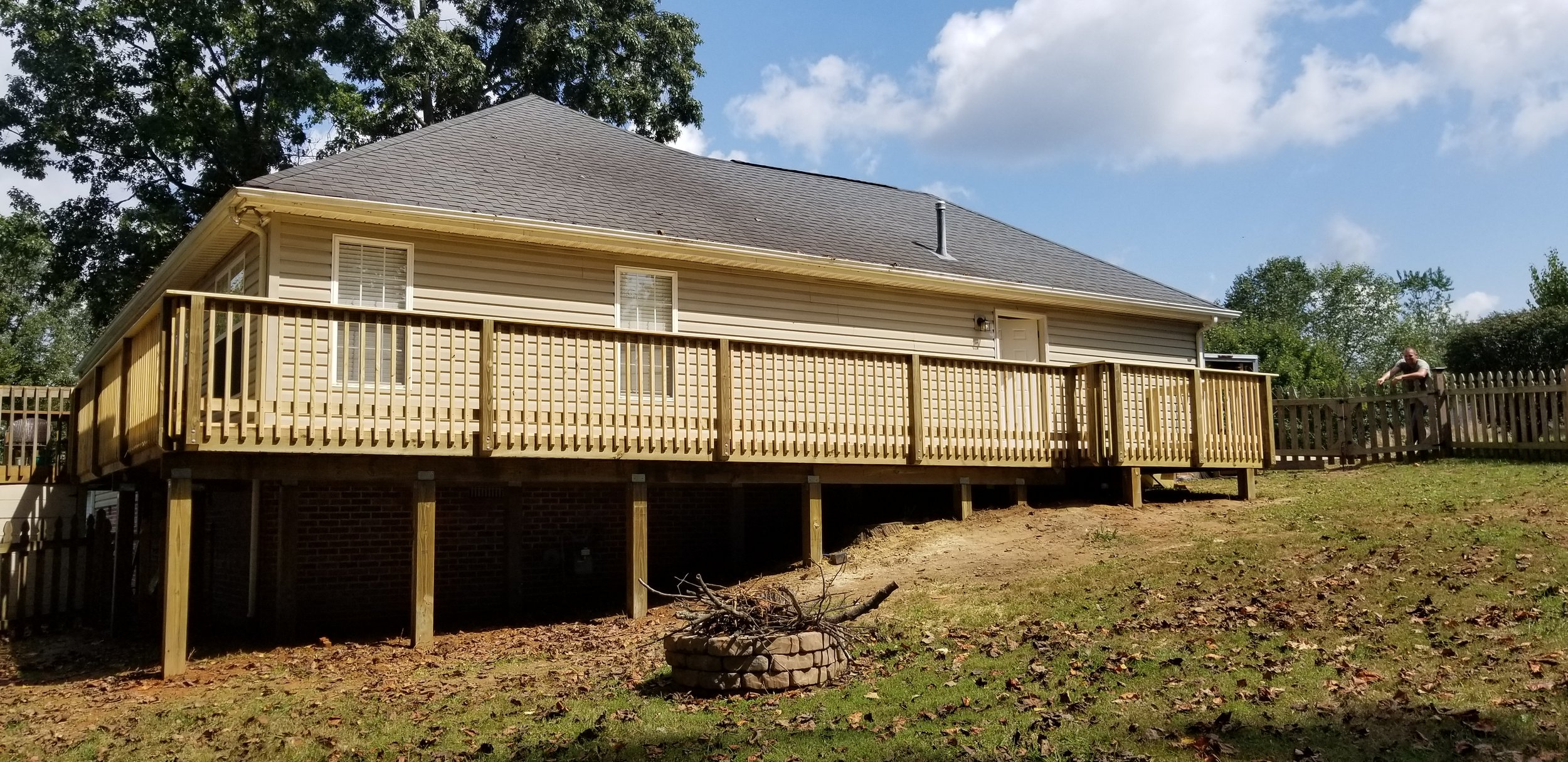 New Wood Deck ( Johnson City, Tn )