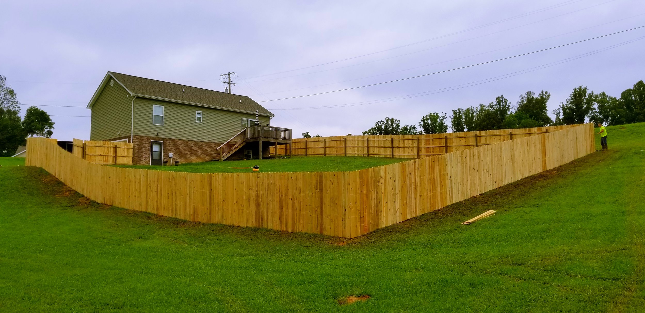 Wood Privacy & Picket Fencing