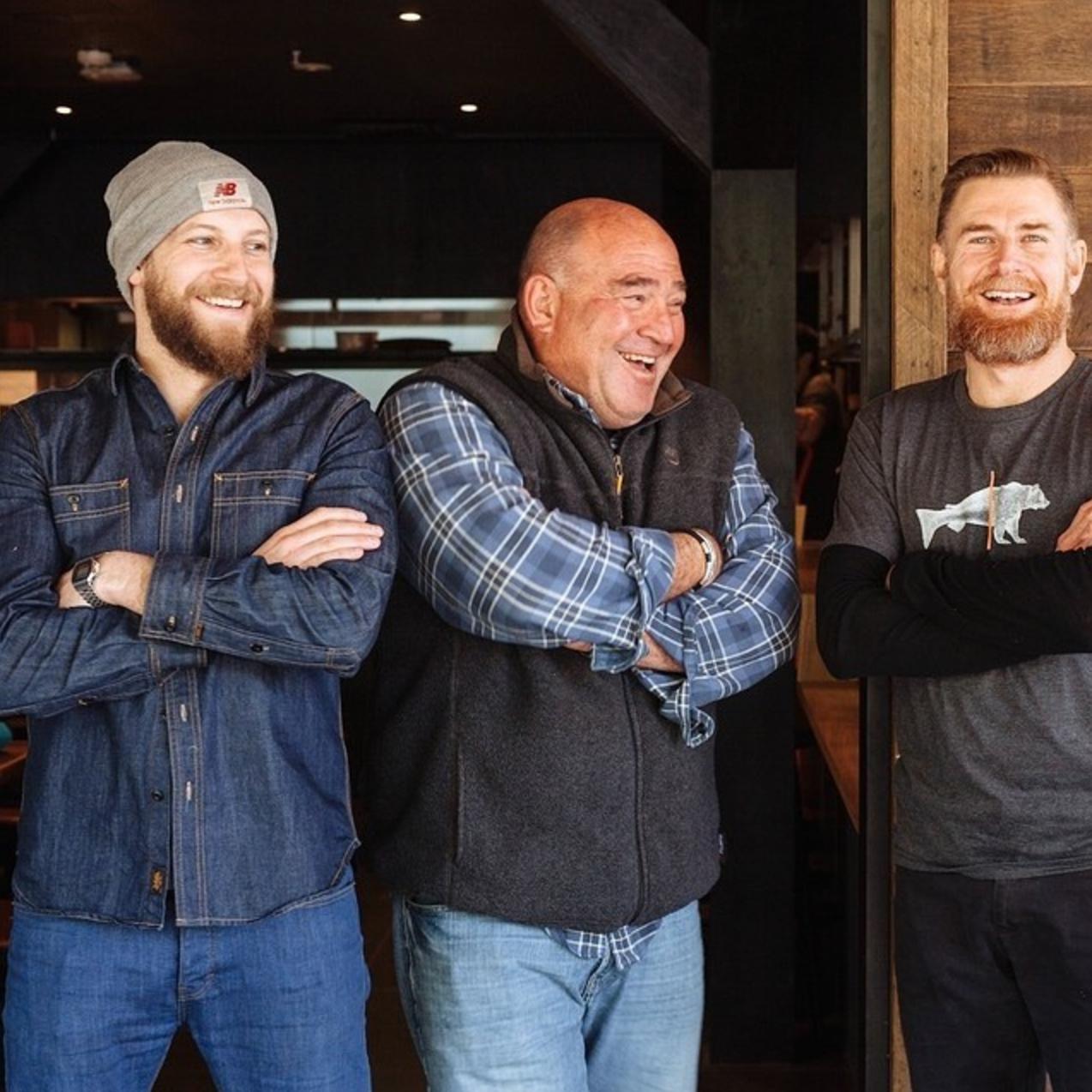 Joe, Joel and Mark from Salmon and Bear