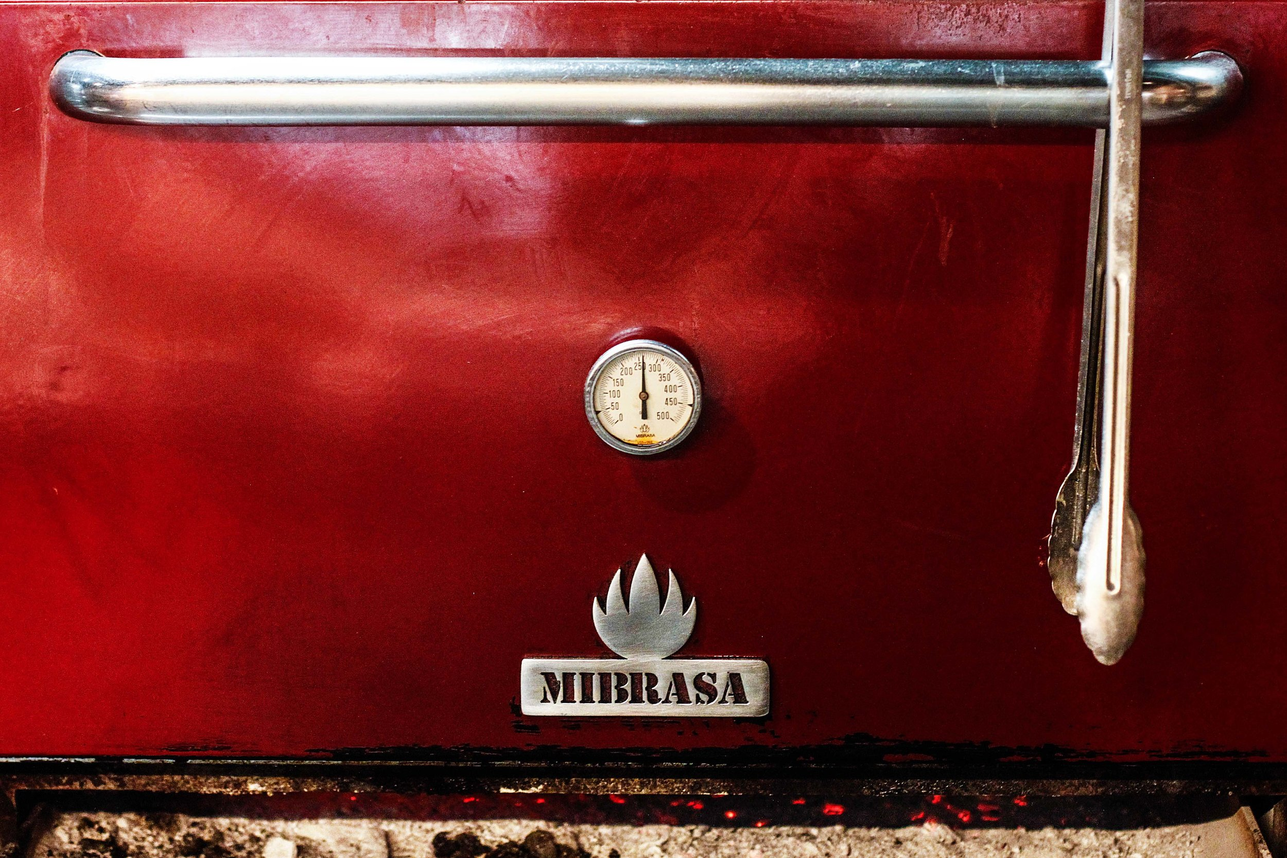 Mibrasa oven cooks fish perfectly
