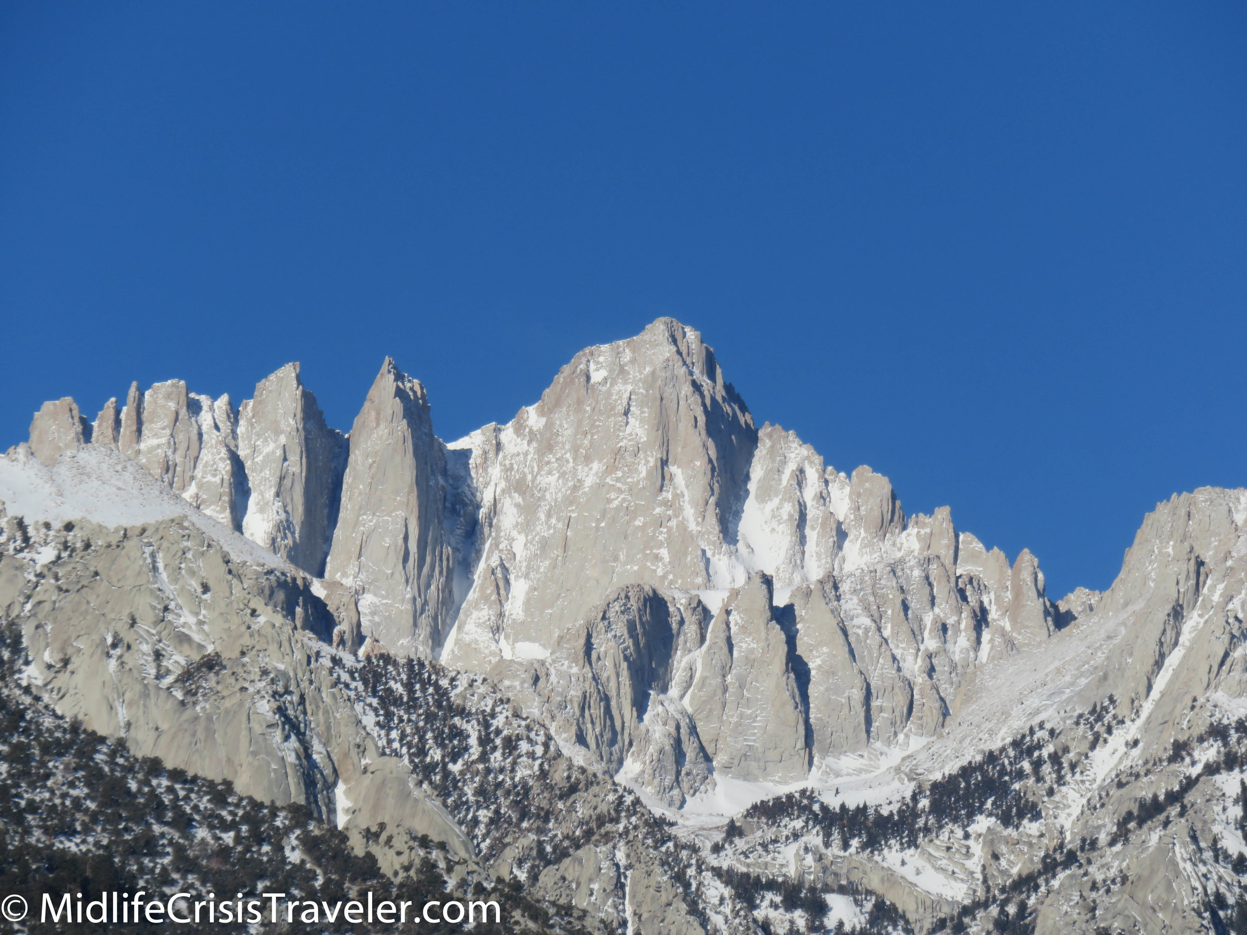 Mt. Whitney is the tallest mountain in the lower 48 states.