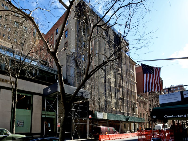 Midtown Landmark Building Enlargement