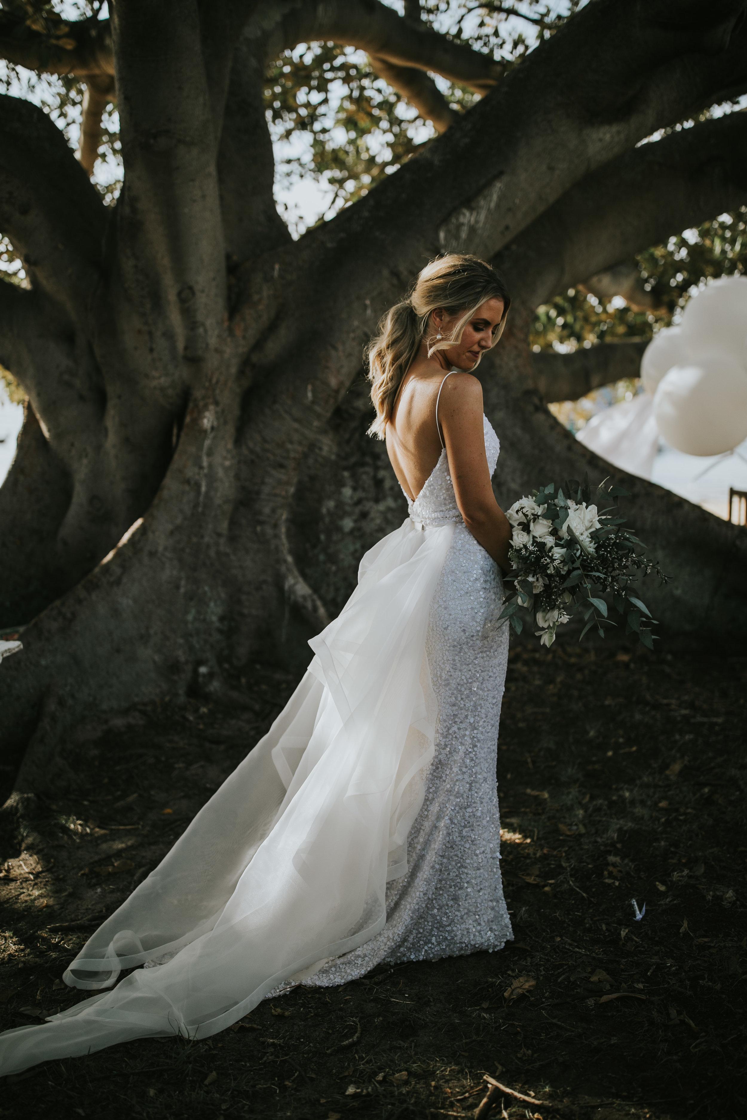 Sara - the stunning bride!