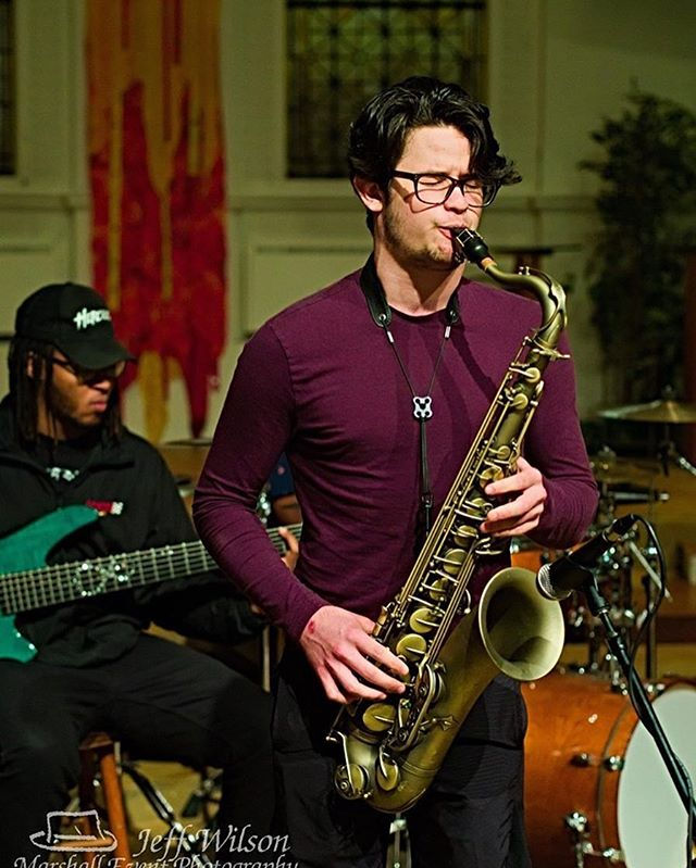 @quinn.blakeney Y'all know that face when you going in! #stankface #sax #jazz #blvcksheep