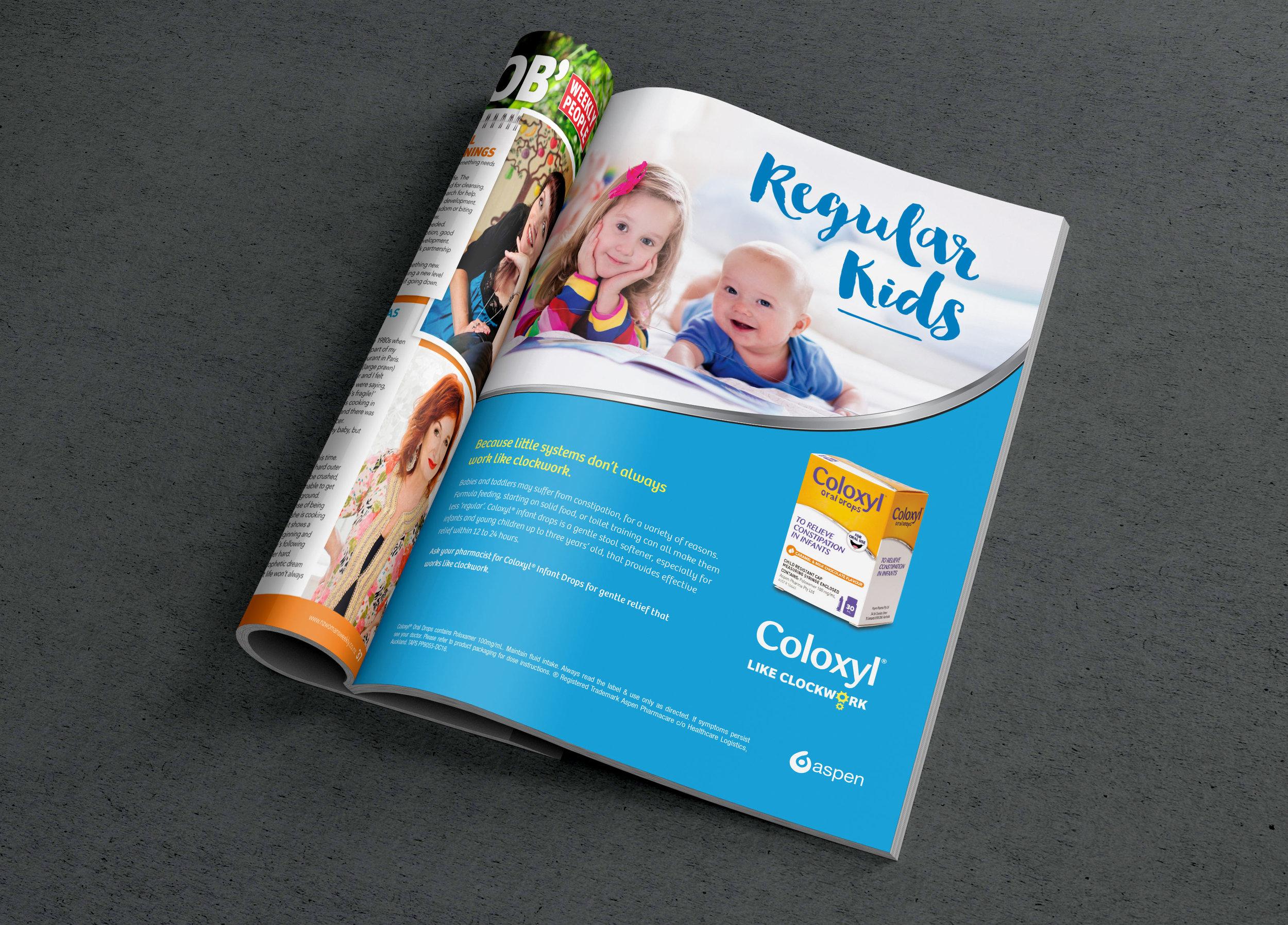 Coloxyl - Consumer campaign: creative direction, design