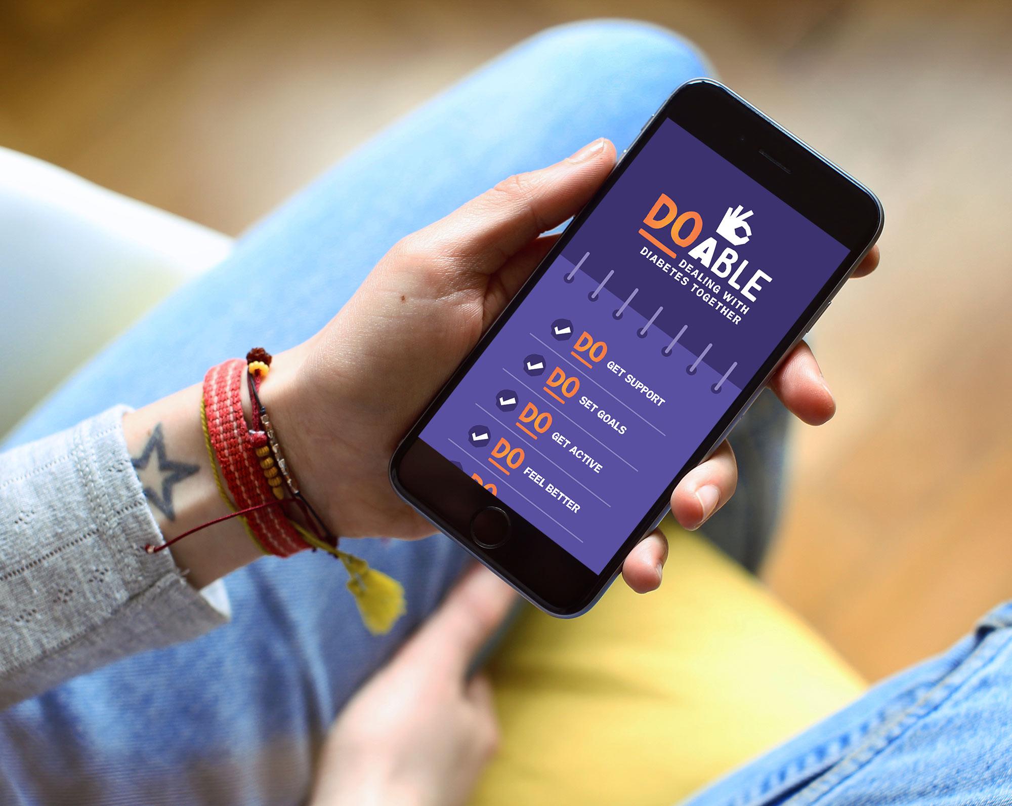 Mobile app:  design