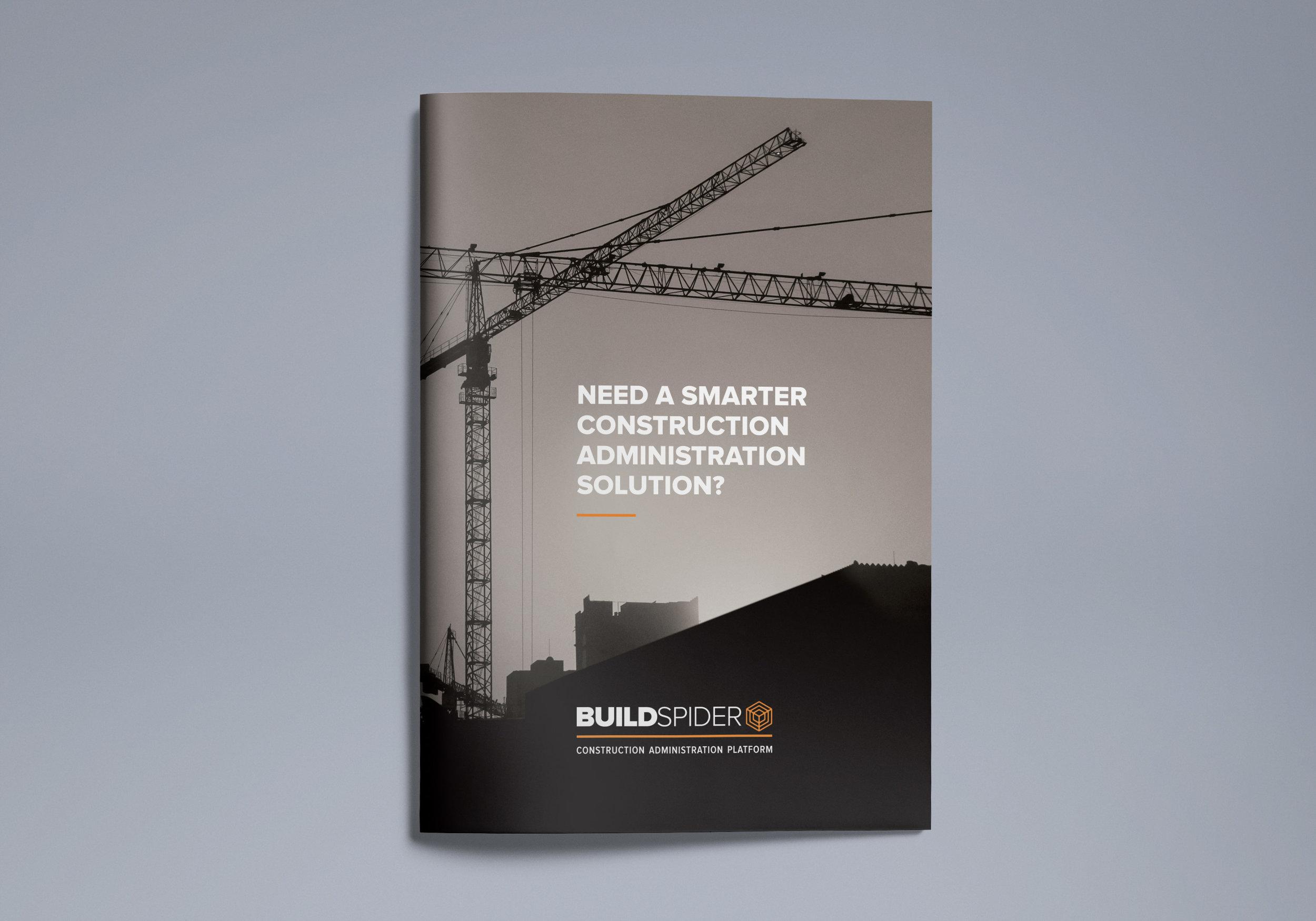 A4 sales brochures: design, print management