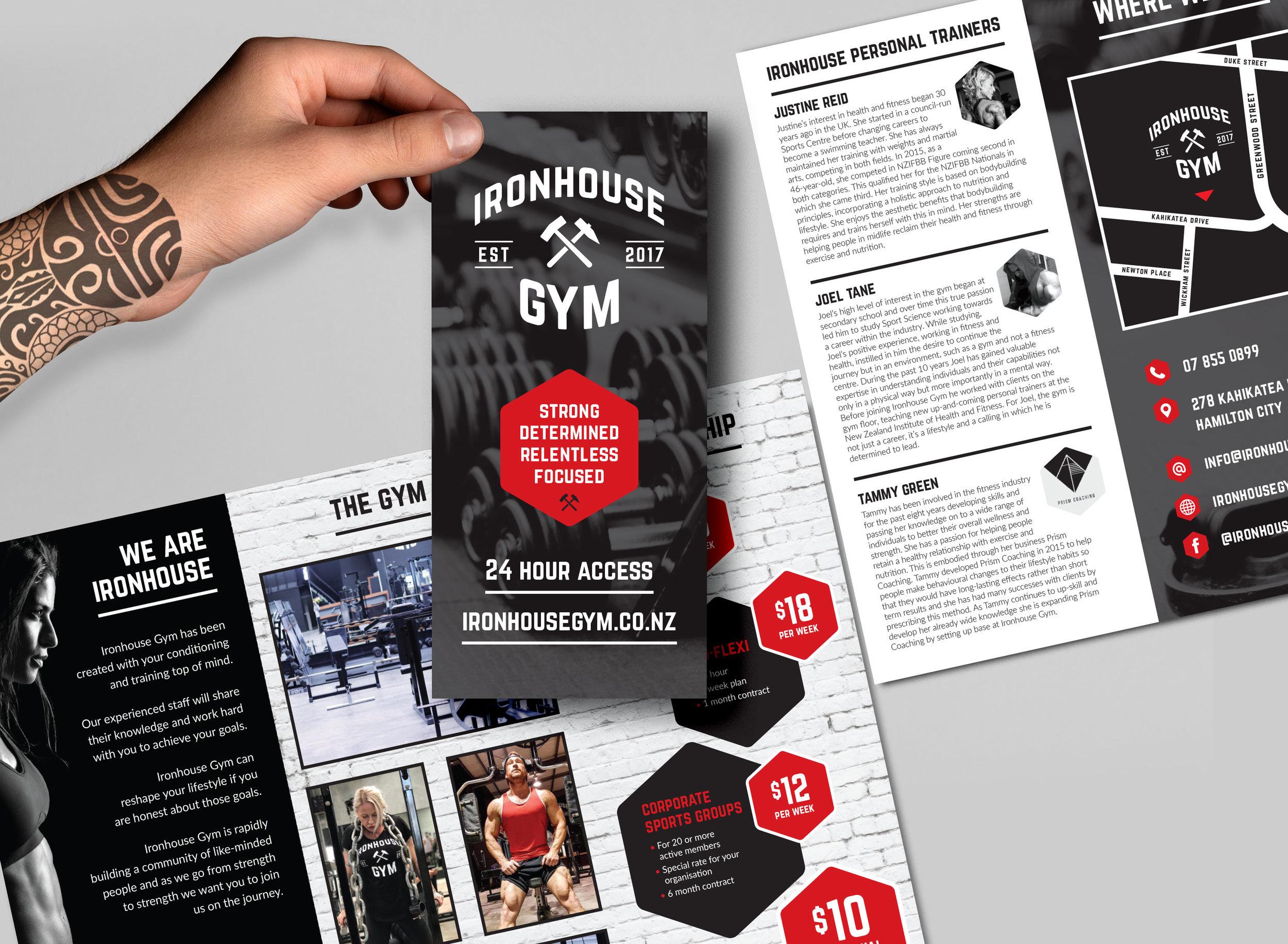 Brochures:  Design, print management