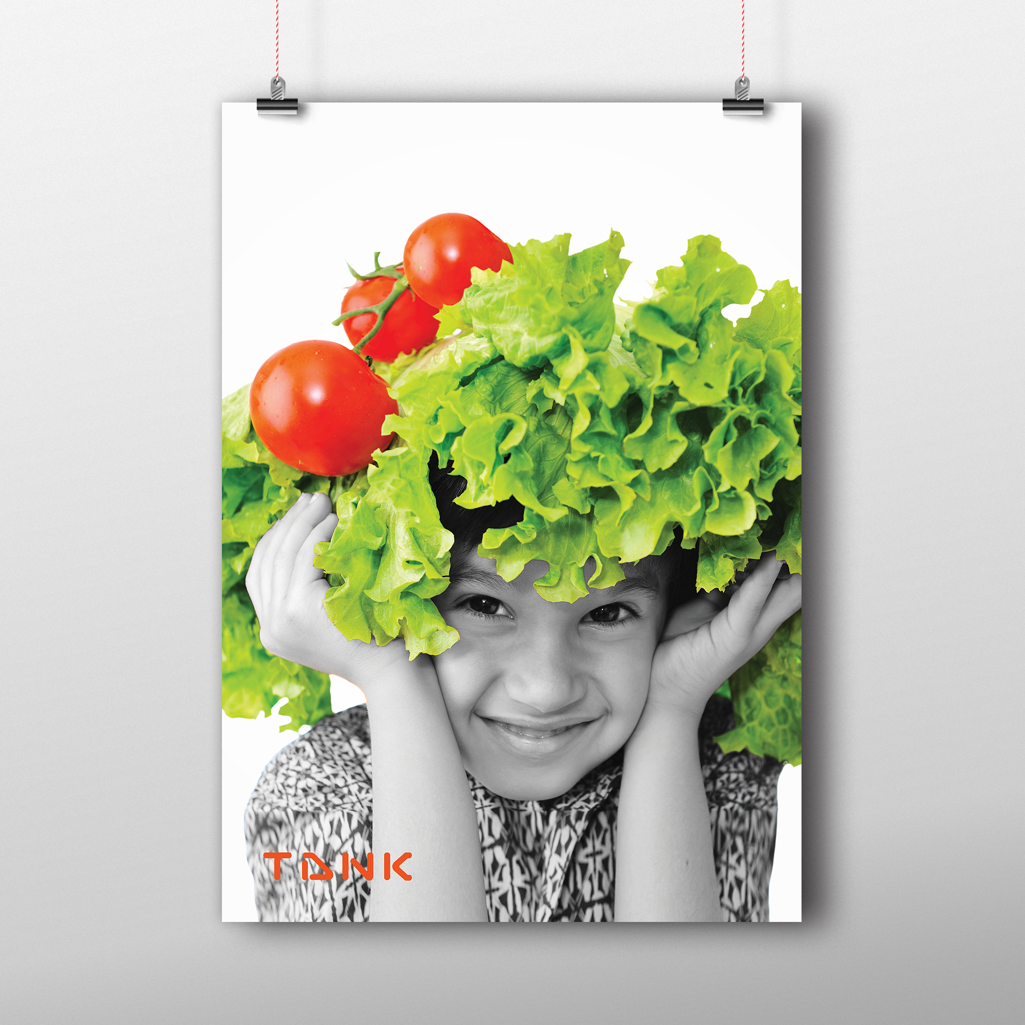 Instore posters and wall graphics:  design, retouching