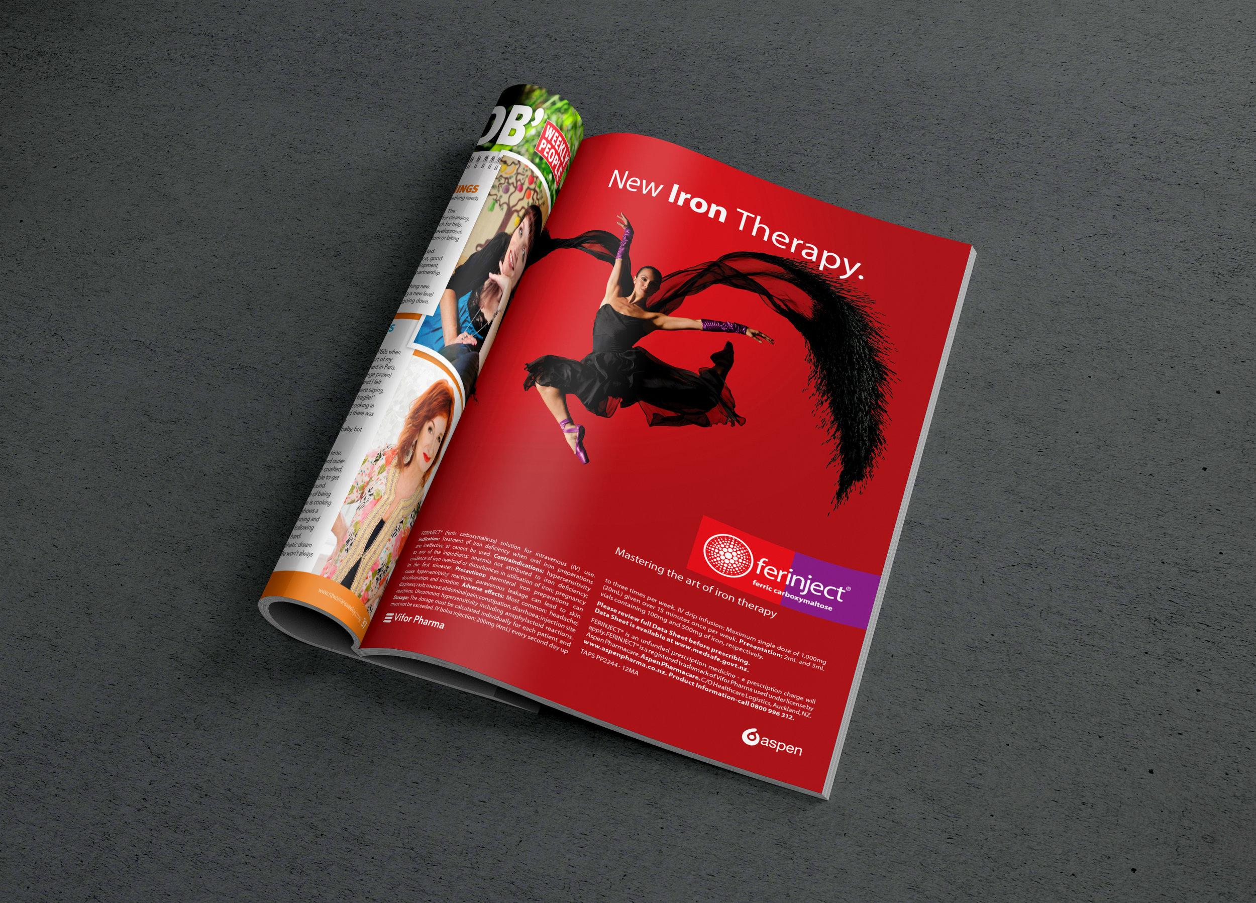 Ferinject - Consumer campaign: design