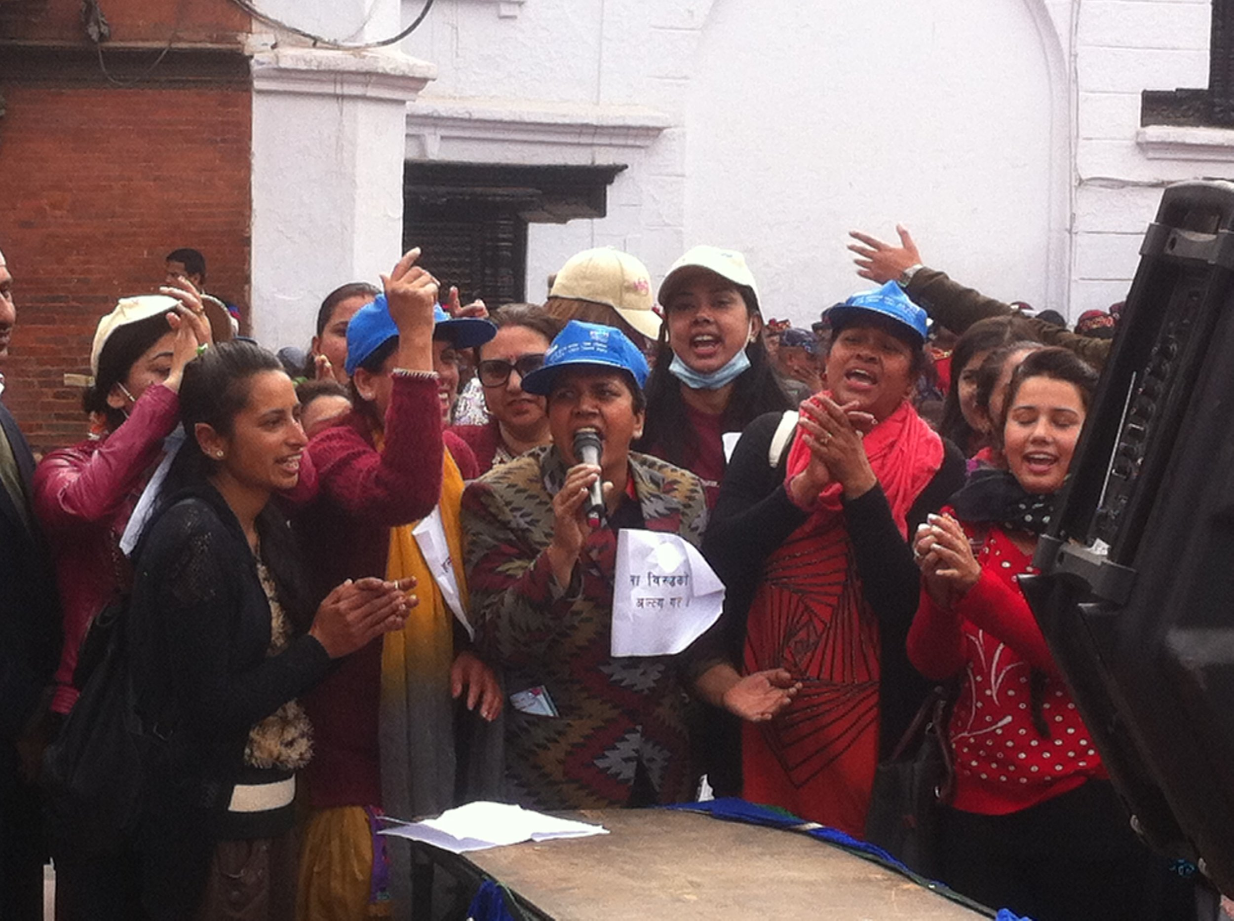 Renu WFN The Global Women's Project Nepal IWD