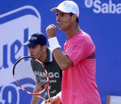 Santiago Giraldo, Colsanitas Team, Won the top 20 Nicolas Almagro in the Semifinals of the ATP 500 Barcelona - Federacion Colombiana De Tenis