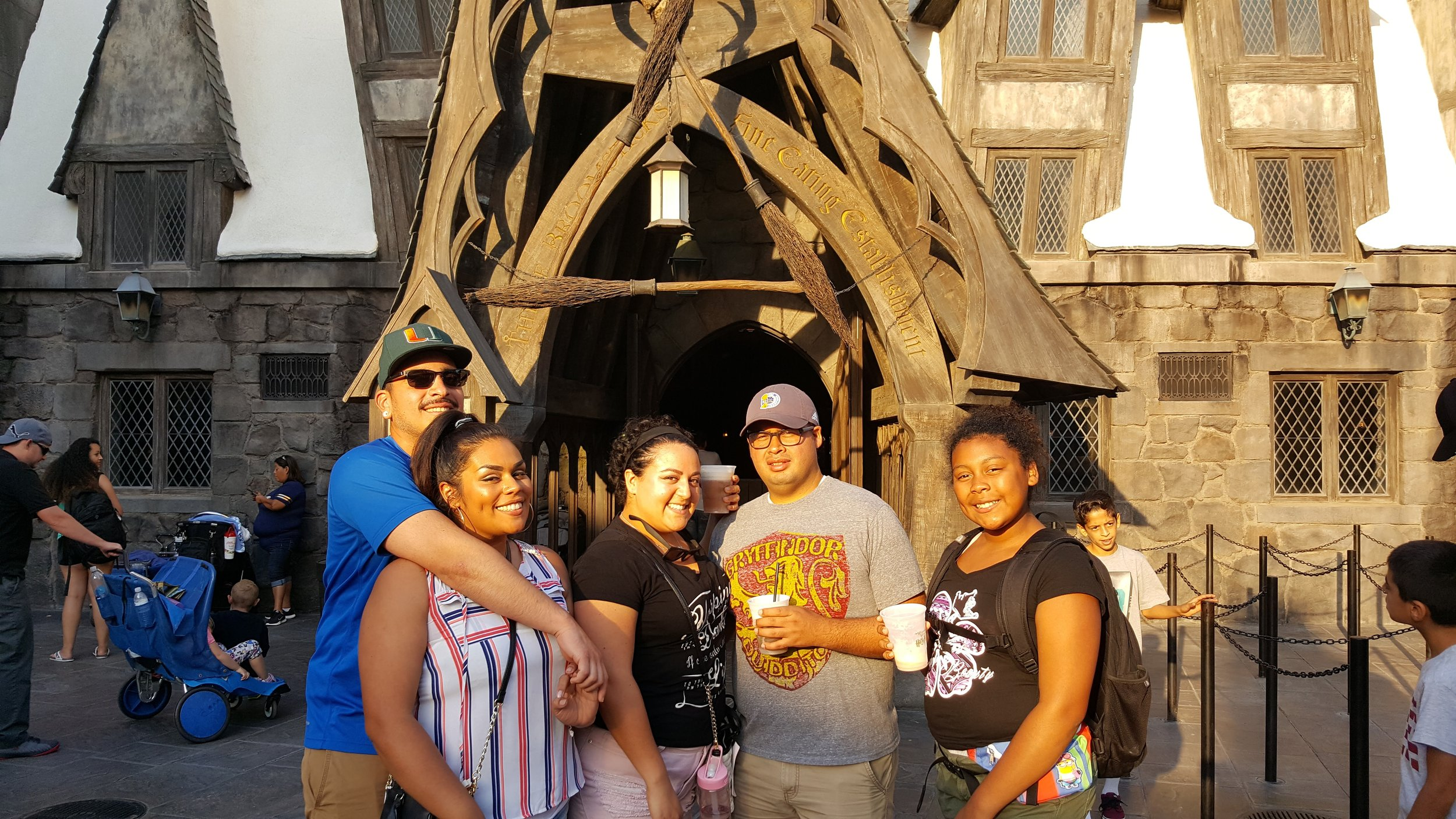 Our first family trip to Universal Studios, October 2017.. before Anaís!