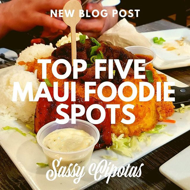 🍧🍙🍤 We stilllll can't stop wont stop swooning over our Maui trip.. especially the food we devoured out there! We're missing it now more than ever since we've made our lenten promises... oh bother.. but we've compiled a list of our Top Five Maui Foodie Spots in case you're planning a trip to paradise soon! 🌴  . . .  Check the link in our bio to see all our mouthwatering deliciousness! 💙  SASSYCIPOTAS.COM 💙 . . . . . #sassycipotas #foodiefinds #newblog#newpostalert #topfive #thriftythursday #ballinonabudget #fatgirlproblems #mauifood #hawaiianfood #mixedplate #shaveice #pokebowl #ahituna #mochi #dakitchen #zippys #tobisshaveiceandpoke #fishmarketmaui #kinaolegrill #mauieats #homemaidbakery #abcstores #foodbloggers #travelbloggers #latinxbloggers #foodielife #throwbackthursday #spammusubi #takemeback