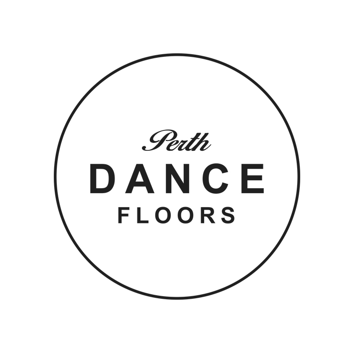 PERTH DANCE FLOORS   These two English lads always swan in, quickly pop down the floor and swan out. They are so nice and are always open to new dance floor ideas. The dance floor should be one of the focal parts of the room, so make sure it's put into your design right at the start, because dancing is life.