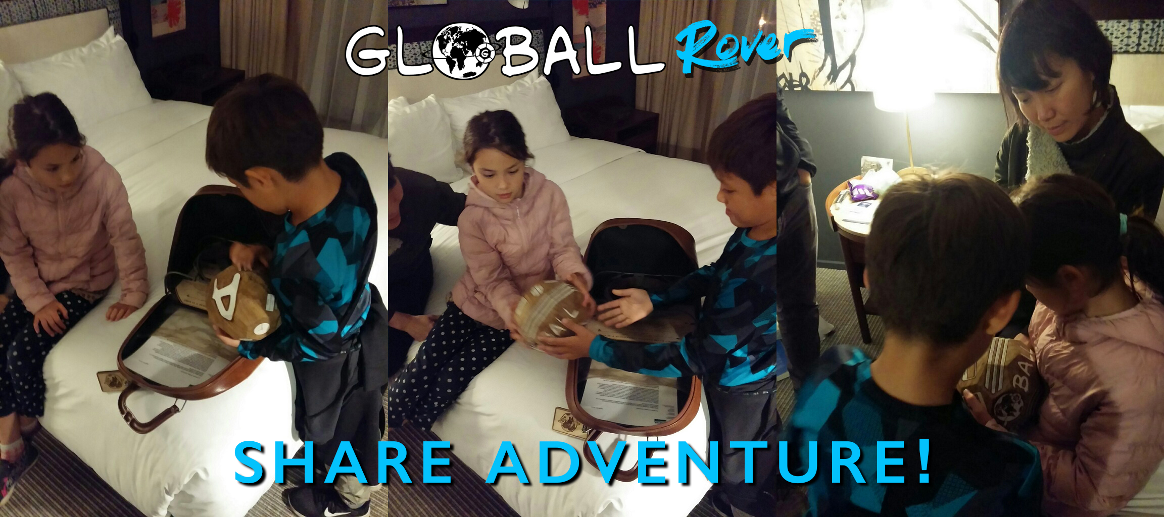 The children of Adam's friends Lin and Lenny share the GLOBALL Rover. Mere days before Adam is set to take it to Japan! 10/30/17