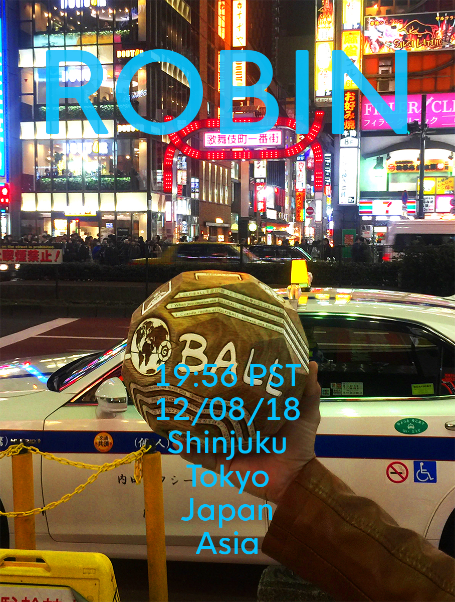 Robin - 6th Recipient of GLOBALL Rover