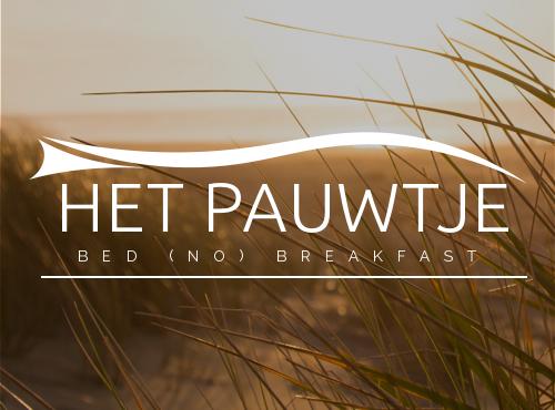 B&B 't Pauwtje - Bekijk de websiteDownload huisstijl handboek (binnenkort beschikbaar)
