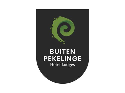 Hotel Lodges - Pekelinge - Buiten Pekelinge heeft luxe hotel lodges gebouwd waarbij je met de luxe van een hotel toch het gevoel hebt dat je midden in de natuur zit. Hiervoor hebben wij een logo ontworpen.Download huisstijl handboek