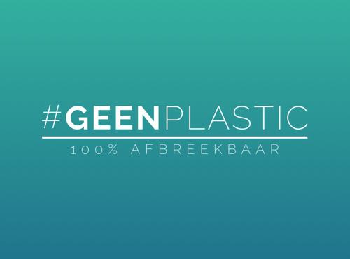 #geenplastic - Voor #geenplastic was de opdracht om het bestaande logo een opfrisbeurt te geven.Bekijk de website