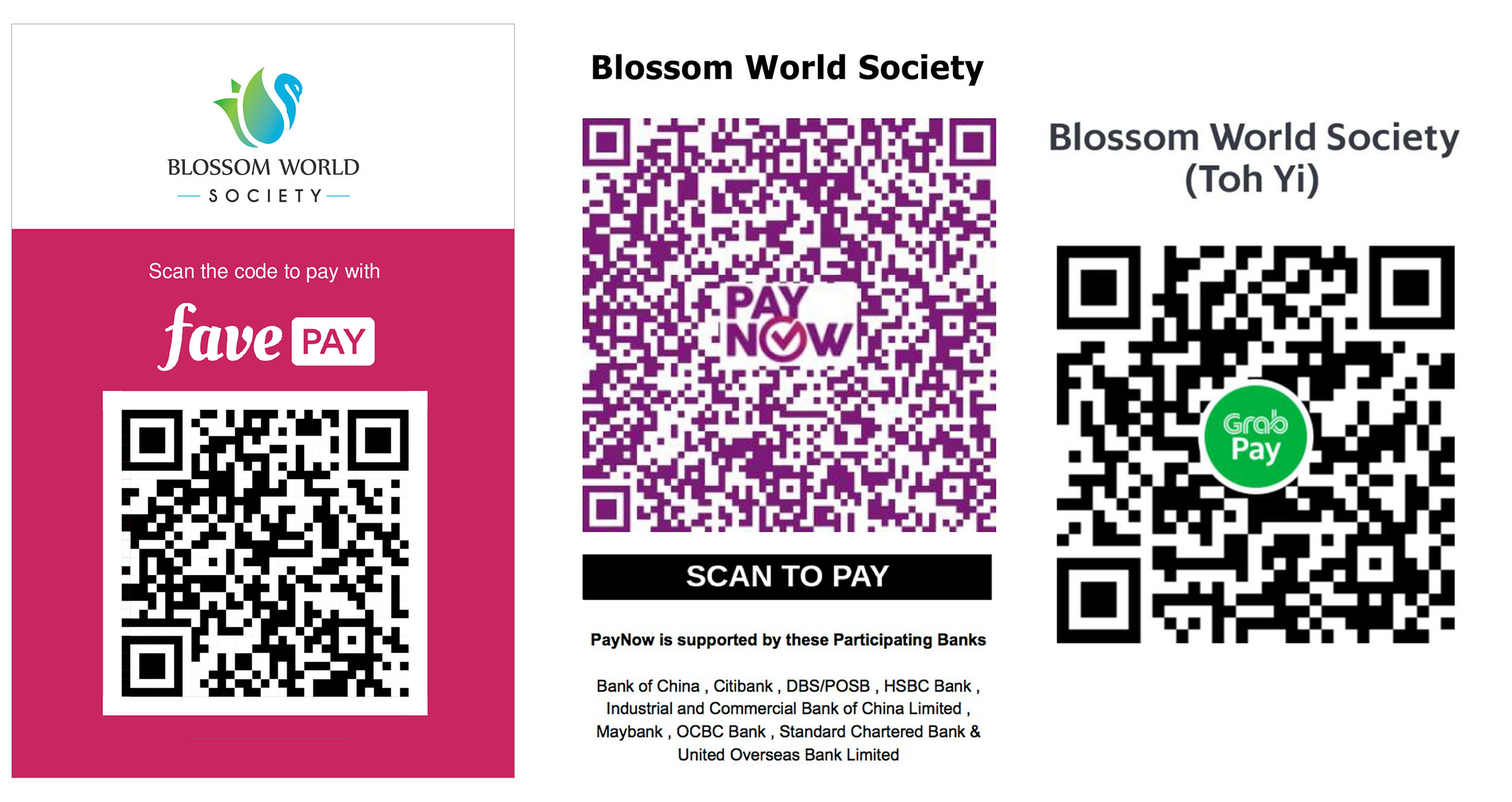 New Events — Blossom World Society