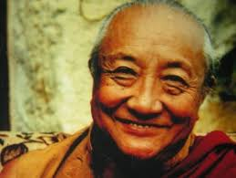 Dilgo Khyentse Rinpoche, Guru to His Holiness the Dalai Lama. A large Gentle-Giant.  Left the body in Bhutan, although born in Tibet.