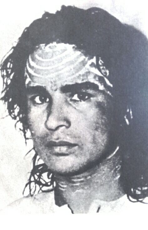 Babaji, around the first years that he appeared. I think this one is from 1971.