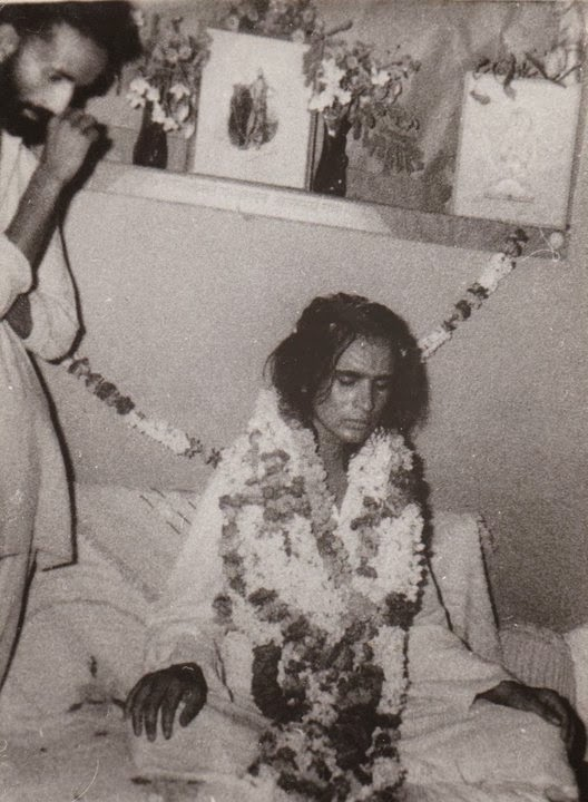 Babaji around his first re-appearance unto the Universe. !970.