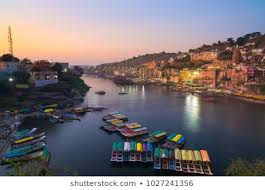 OMKARESHWAR- A very holy town of India, and also closely associated with Lord Shiva.