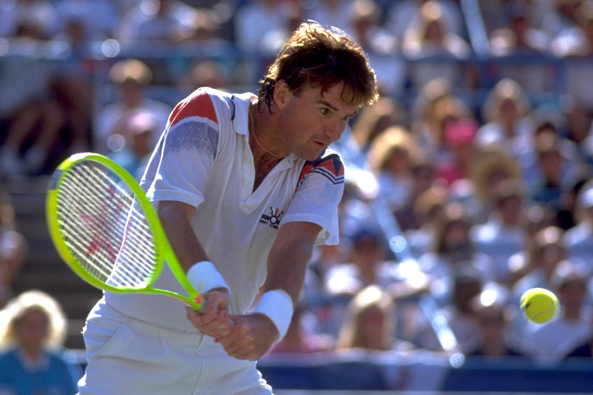 Jimmy Connors, US Open 1991 (Getty Images)