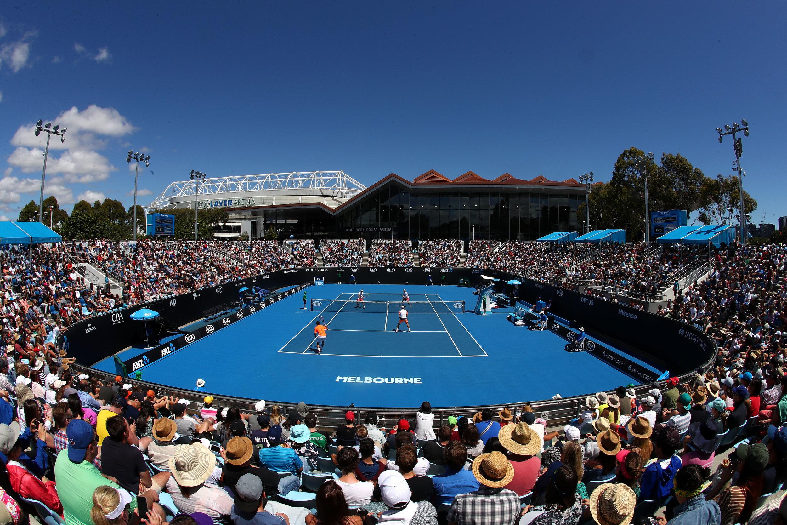 Court 3 at Melbourne Park