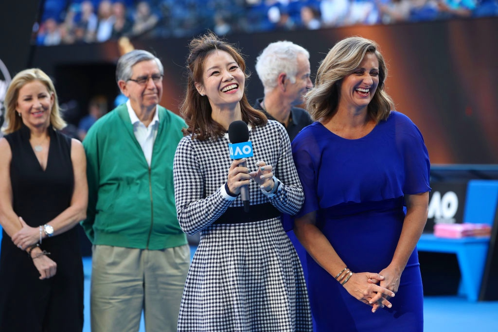 2019 Hall of Fame inductees Li Na and Mary Pierce