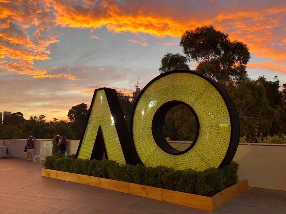 The AO logo