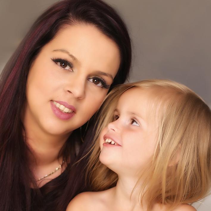 Moeder-dochter-foto-ineenflits