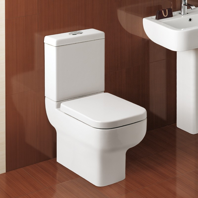 Close Coupled Toilet With Cistern