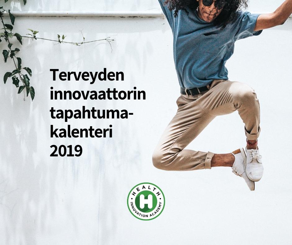 Terveyden innovaattorin tapahtumakalenteri 2019