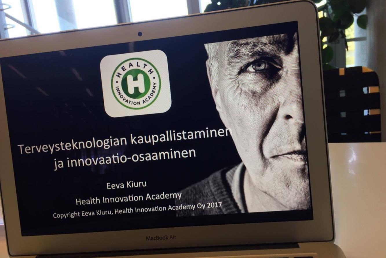 Terveysteknologia ja hyvinvointiteknologia ovat nopeasti kehittyviä aloja. Jokaisen terveydenhuollon ammattilaisen tulee tietää perusasiat terveyden ja hyvinvoinnin innovaatioista sekä opetella perustaidot, jotta oma arkipäiväinen kehittämistoiminta on mahdollista.