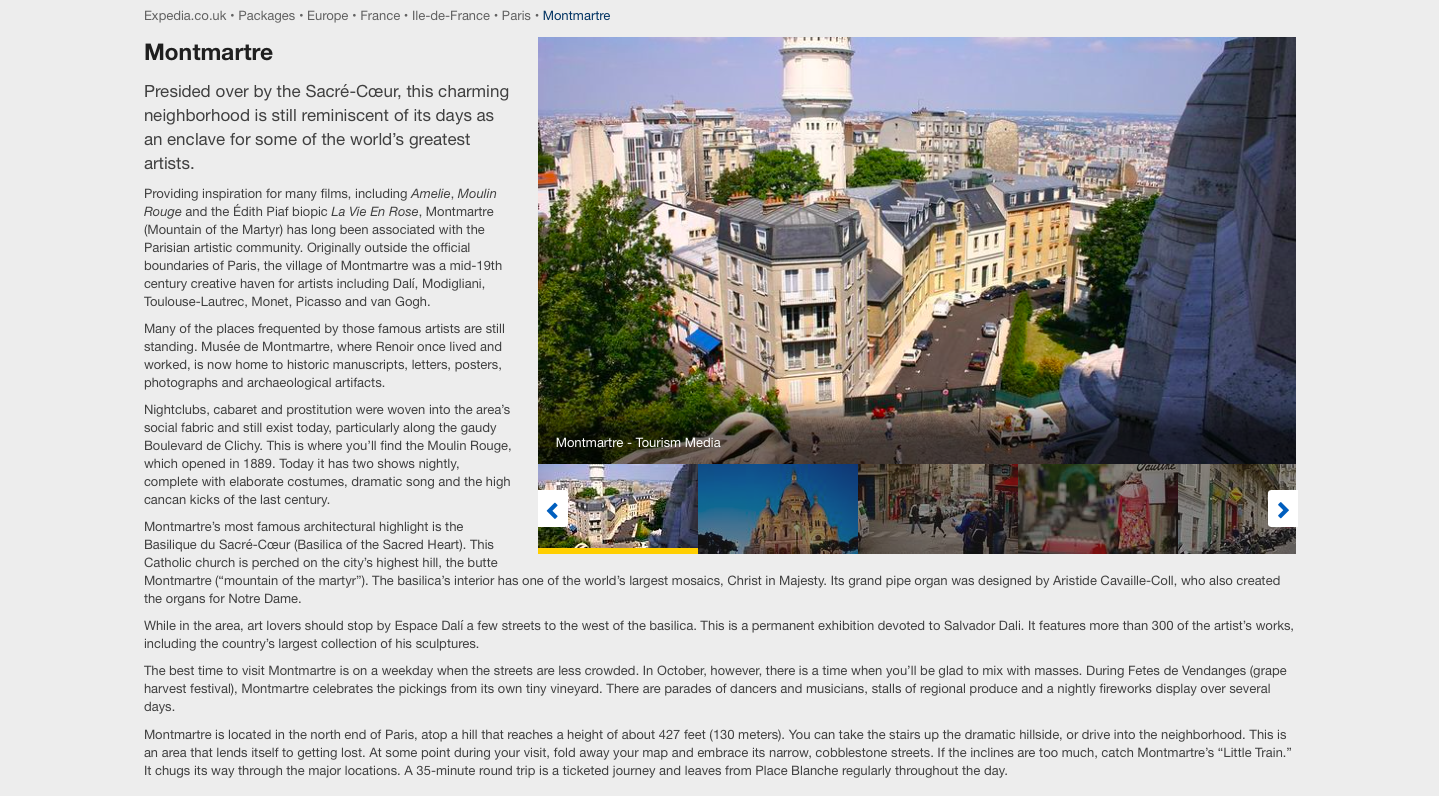 To read the full Paris guide, click  here .