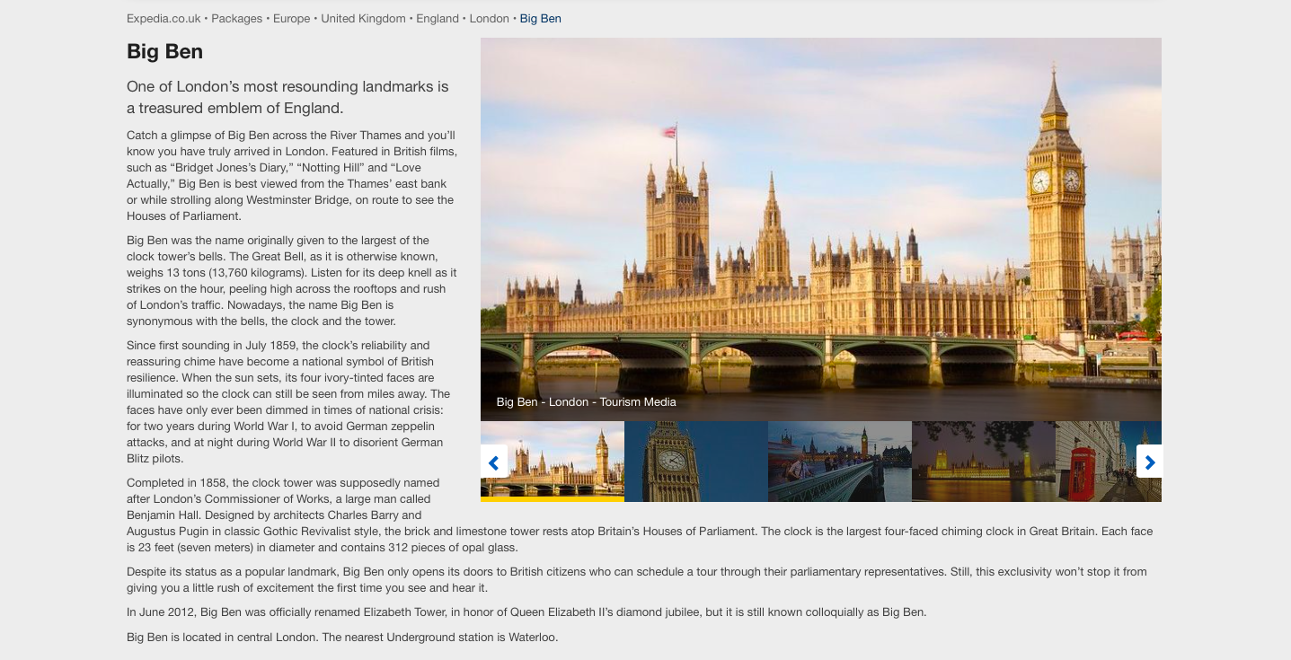 To read the full London guide, click  here .