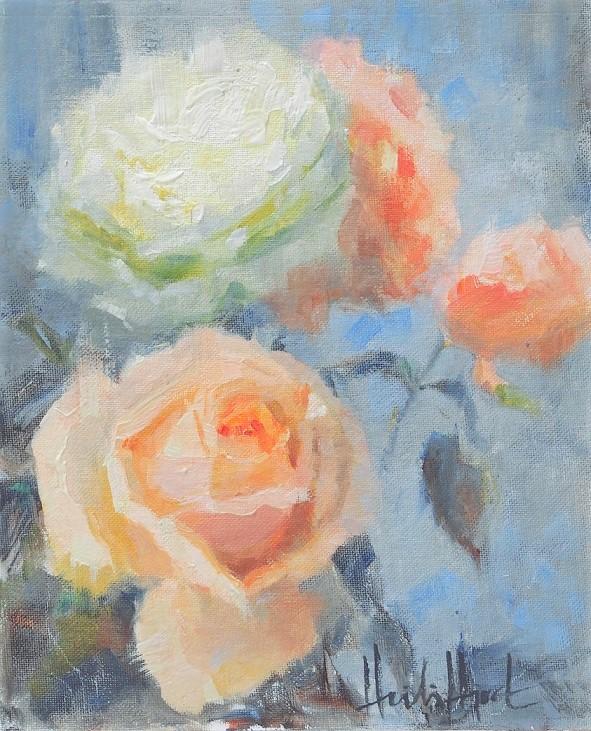 Pot Roses, 490€, 27x22 cm