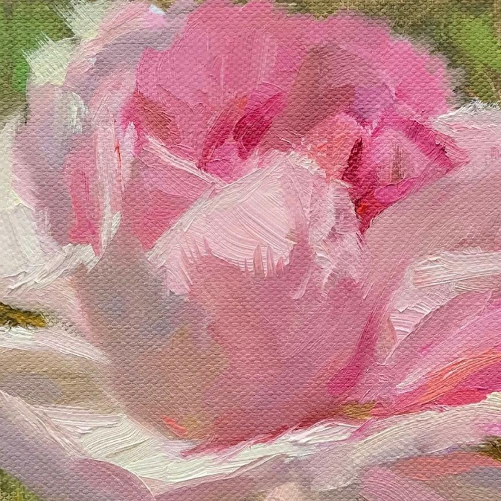 Pink Rose, 150€, 13x13 cm
