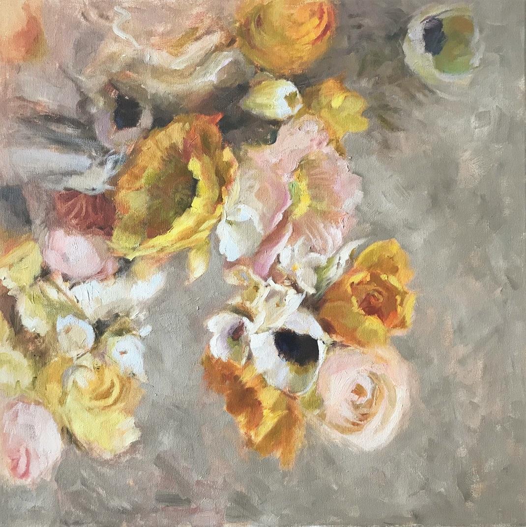 Floral Rhapsody, 1000€, 50x50 cm