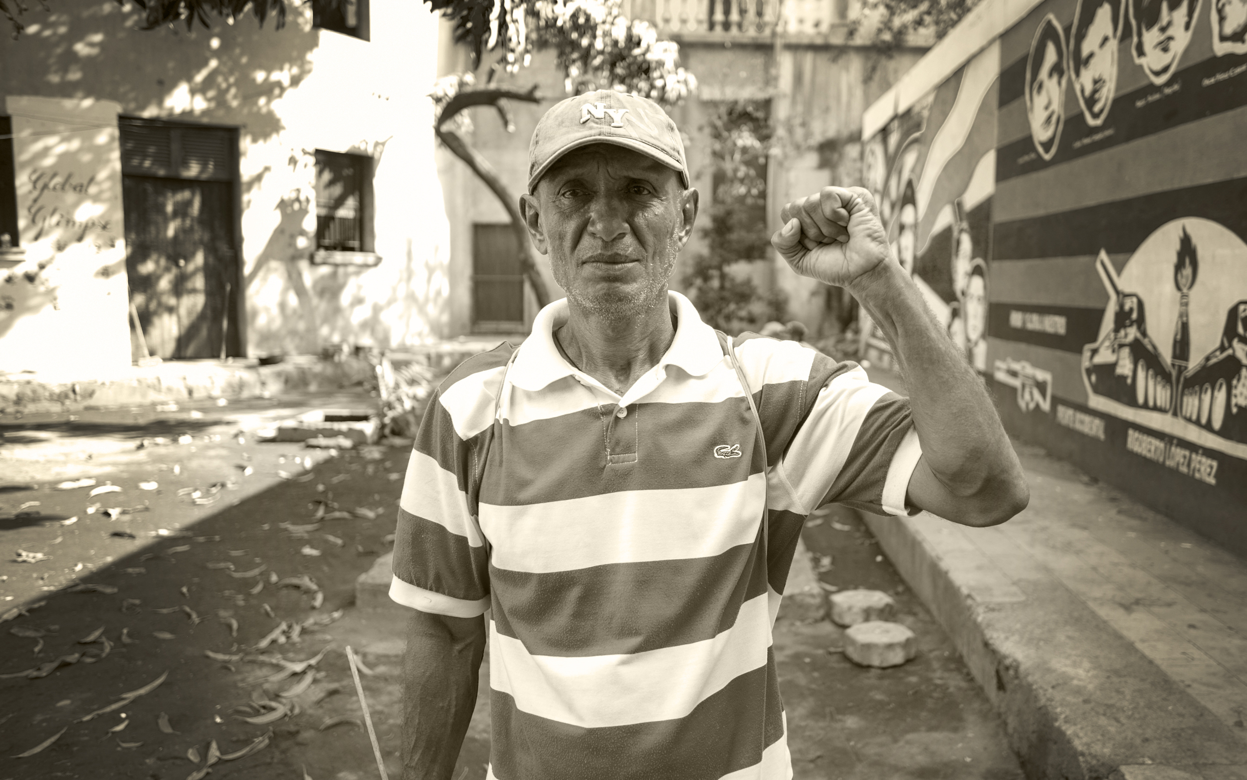 Remember the revolution.  Léon, Nicaragua.