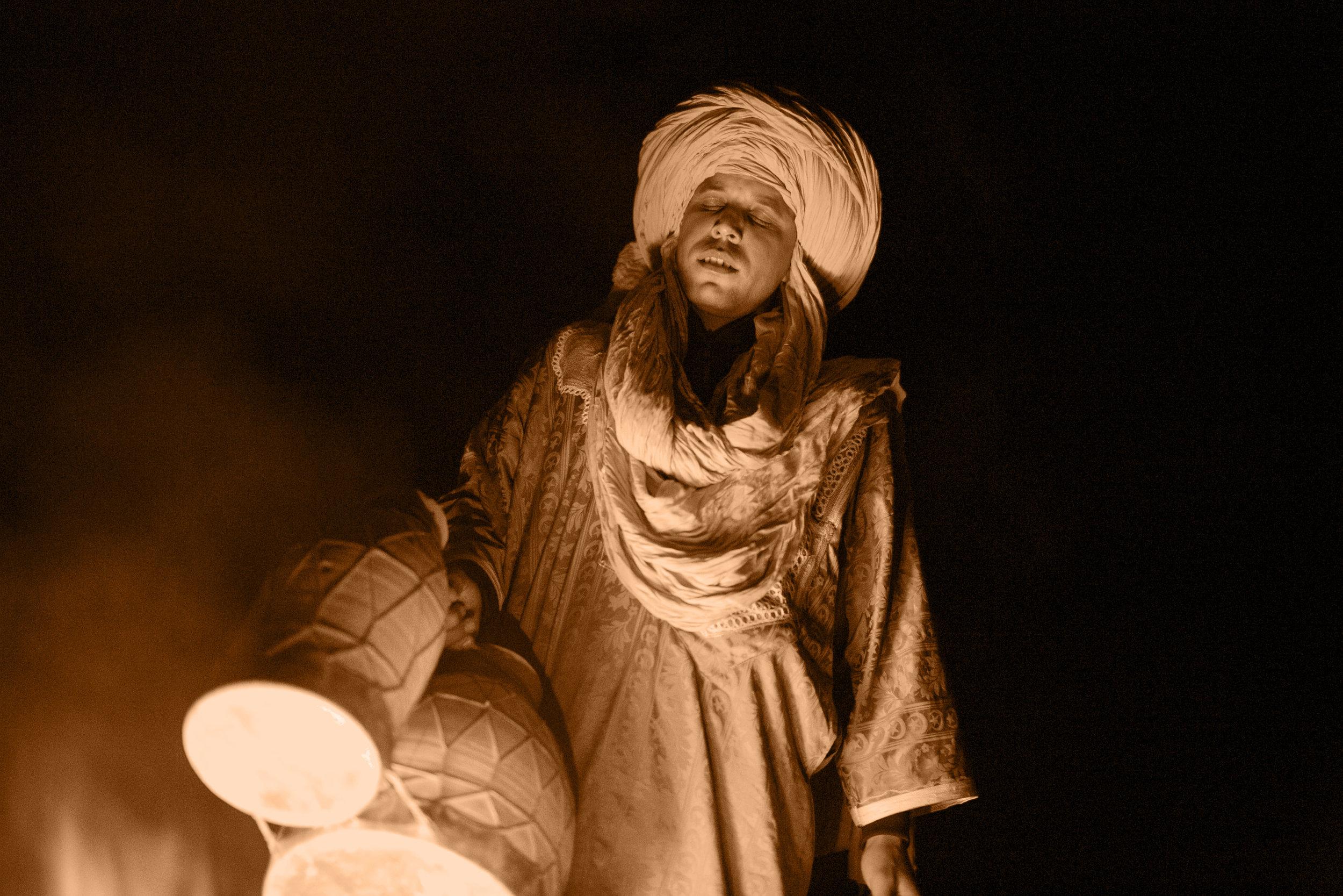 Desert Drums.  Erg Chebbi, Morocco.